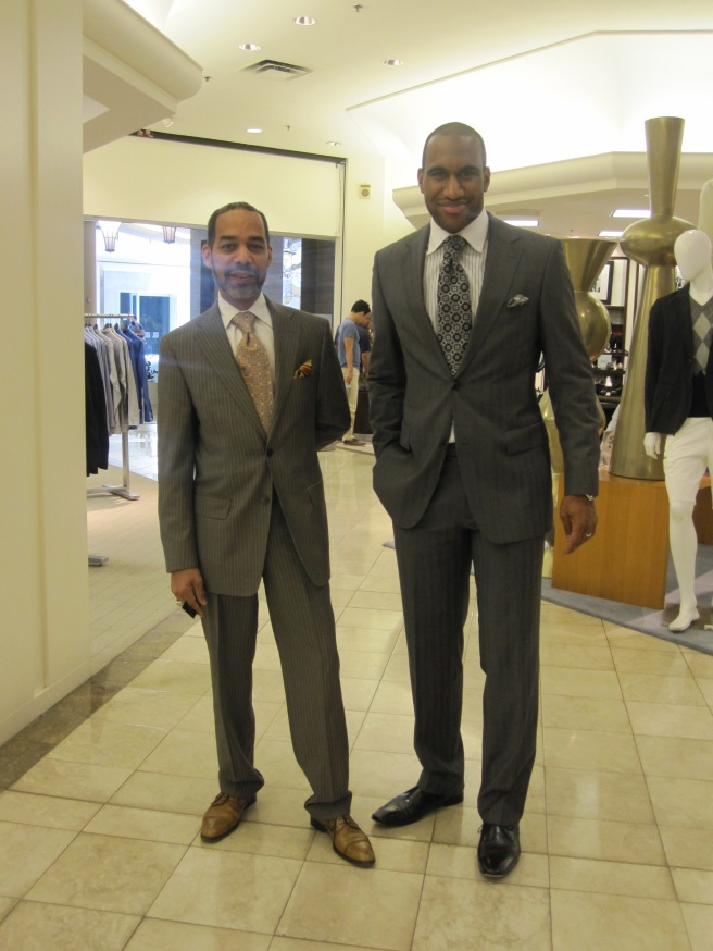 Versace and Hugo Boss