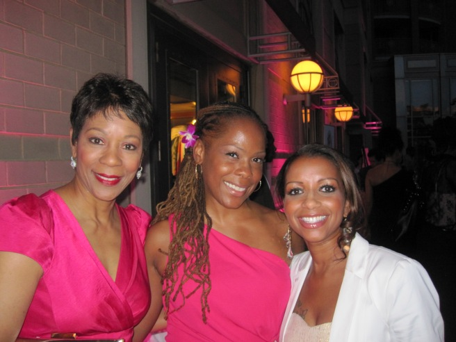 Andrea Roane, Lerkia Lee-Tidball and Kara Allan