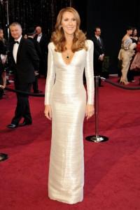 Celine Dion Oscars 2011