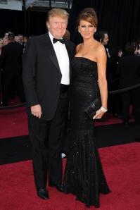 Donald and Melania Trump Oscars 2011