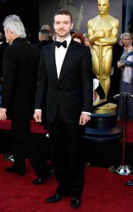Justin Timberlake Oscars 2011