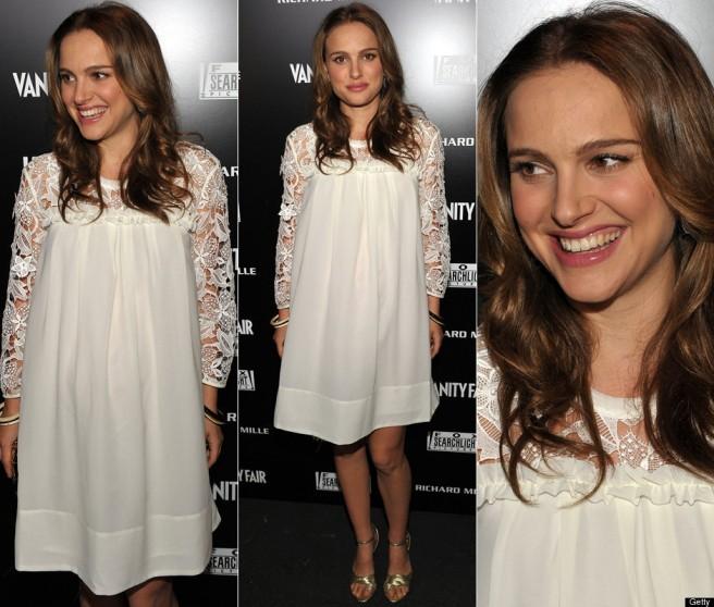 Natalie Portman wears H&M