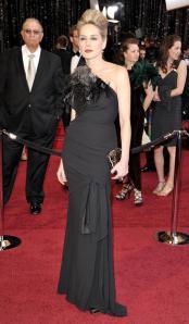 Sharon Stone Oscars 2011