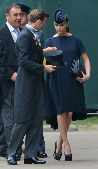 victoria beckham royal wedding. Victoria Beckham, former Spice
