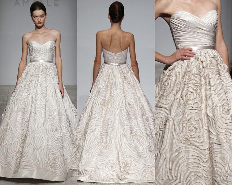 Amsale Wedding Dress | Ask Kara What To Wear