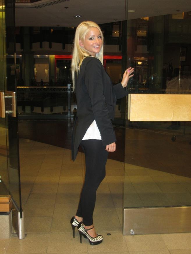 Vicki's Tuxedo Jacket