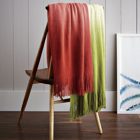 Dip Dye Throw
